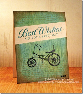 Best Wishes Birthday Bike