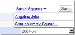 google squared save squareds