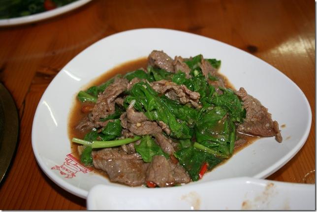 永康鴻品牛肉  芥蘭牛肉