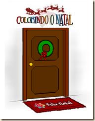 colorindo o natal