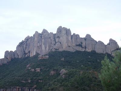 Zona més occidental de Montserrat