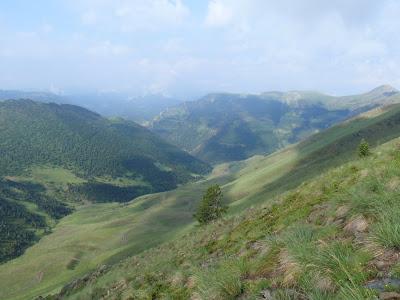 Vista cap a la vall de Conflent