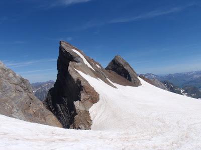 Pitón Carré i punta Chausenque