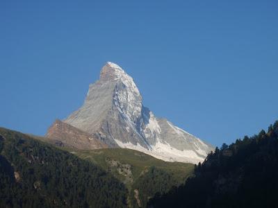 El Matterhorn des de Zermatt