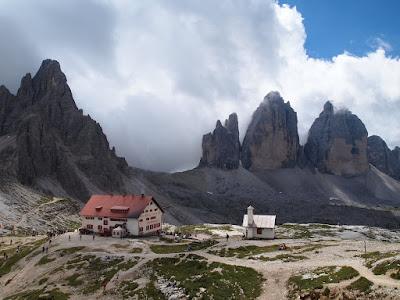 Monte Paterno, refugi Locatelli i Tre Cime di Lavaredo