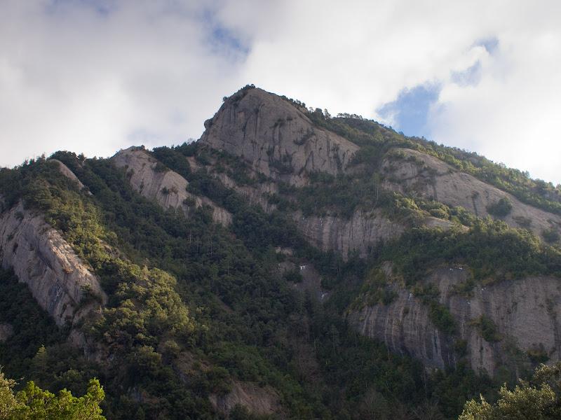 Serrat del Migdia, vist des de l'oest