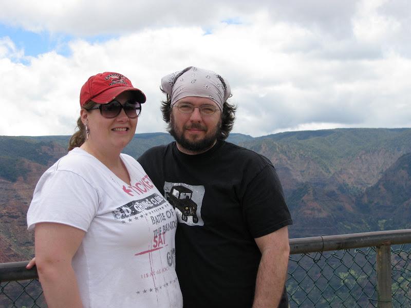 Jen and I at Waimea Canyon