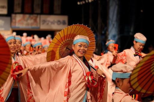 本祭1日目 高知城演舞場 7   D-11944