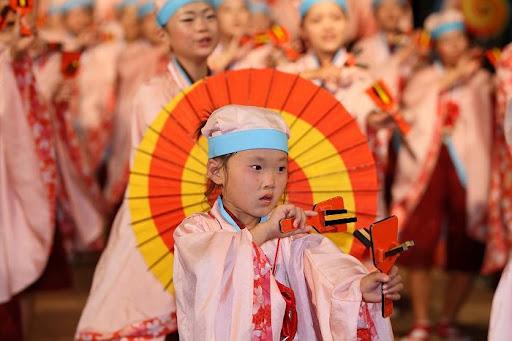 本祭1日目 高知城演舞場 10   D-11959