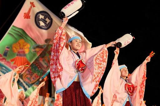 本祭1日目 高知城演舞場 19   D-11988