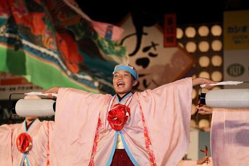 本祭1日目 高知城演舞場 41   D-12033