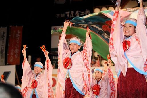 本祭1日目 高知城演舞場 42   D-12035