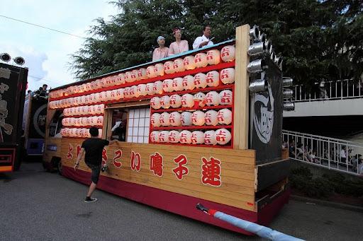 本祭1日目 地方車集合 1        D-12997