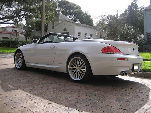 Bmw M6 White Convertible. White BMW m6 nice!