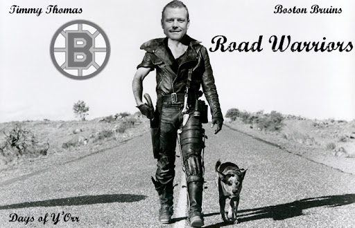Boston bruins road warriors