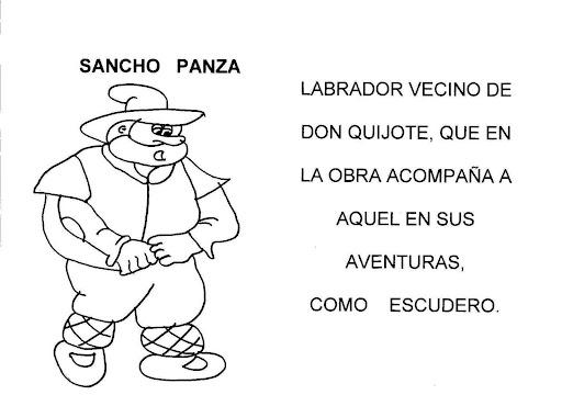 LAMINAS DE DON QUIJOTE DE LA MANCHA PARA NIÑOS - photo#21