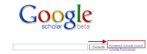 Google Scholar Advanced