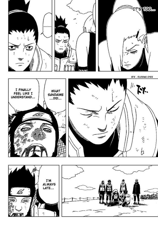 Naruto Shippuden Manga Chapter 328 - Image 04