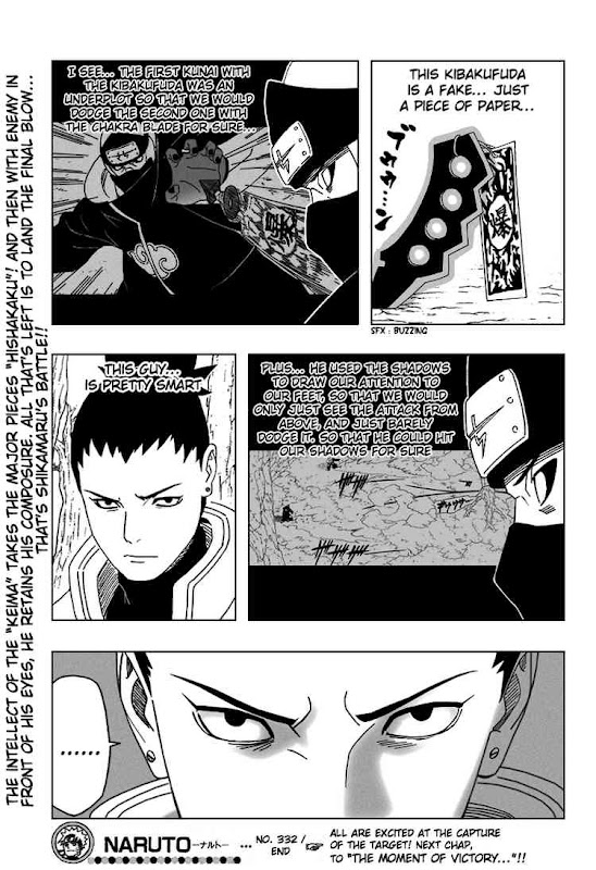 Naruto Shippuden Manga Chapter 332 - Image 19