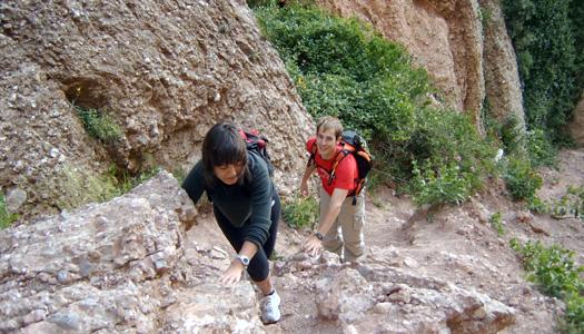 Grimpada per les roques