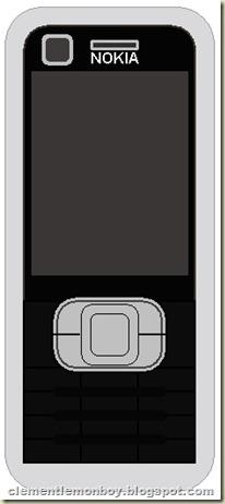 Nokia 6120 Classic (before)