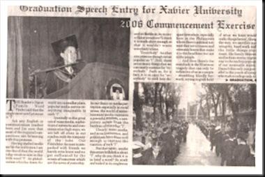 grad speech