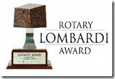 Lombardi Award trophy small