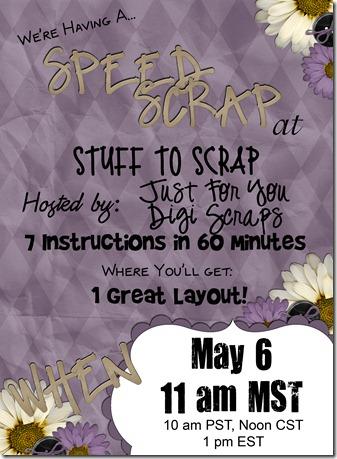 May 6 Speed Scrap