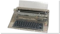 Prison typewriter