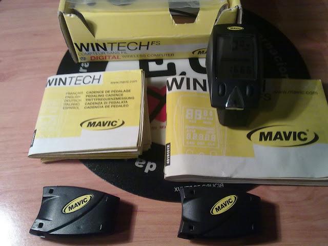 [VENDIDO] Ciclocomputador Mavic Wintech FS Wireless 27022010012
