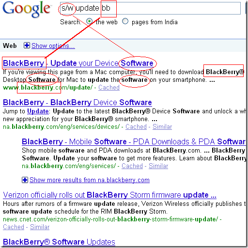 Google Bing Compare
