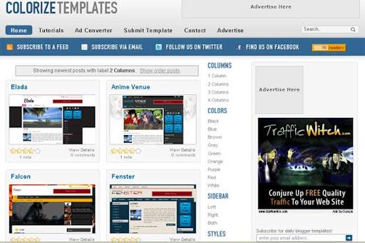 blogger templates colorizetemplates.com