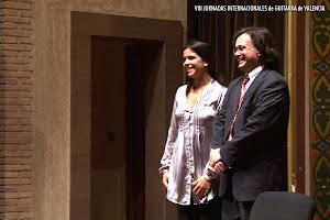 Gabriel Guillén dio la alternativa a Ana Ferrer en las VIII Jornadas Internacionales de Guitarra de Valencia