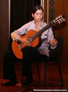 Ana Ferrer Fornés en las VIII Jornadas Internacionales de Guitarra de Valencia