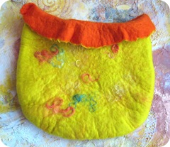 Felt bag Alison Taylor workshop