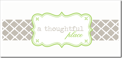 Header- A Thoughtful Place