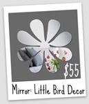 MD Treasury Little Bird Decor