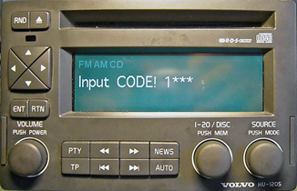 how to find your radio code