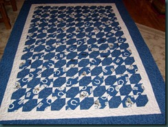 Cheryl's Colts Quilt 1