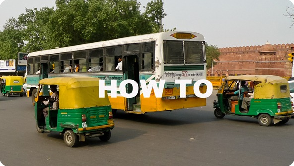 (How-To) Auto Rickshaw Tuk Tuk in Old Delhi (India)-1070277
