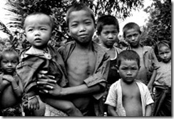 Chakma children in the Chittagong Hill Tracts