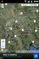 Screenshot of Vremenska Prognoza Makedonija
