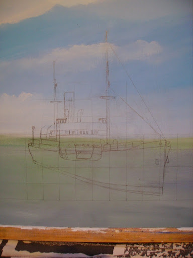 hobby peinture - Peinture maritime : nouveau hobby ? IMGP2772