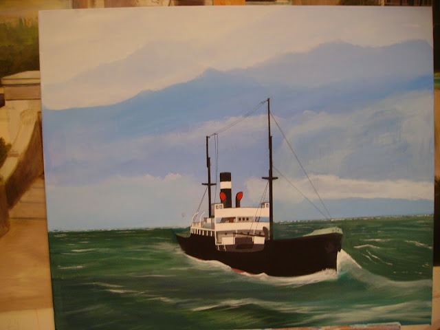 hobby peinture - Peinture maritime : nouveau hobby ? IMGP2805