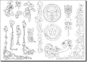 Art Nouveau Designs 1