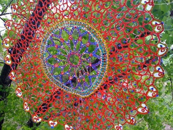 rose window,web