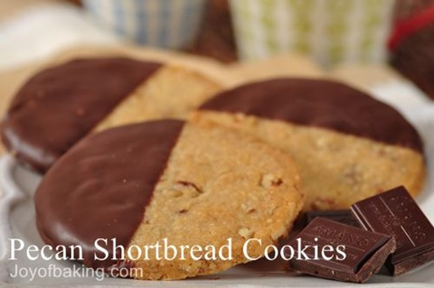 Pecan Shortbread Recipe;