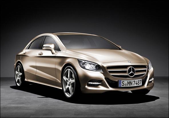 Mercedes planeja lançar um novo cupê compacto em 2014