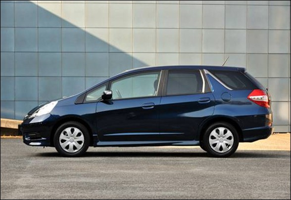 Honda mostra o Novo Fit Shuttle