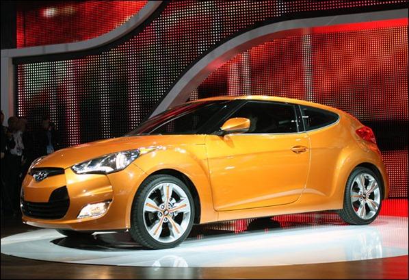 Hyundai Veloster será vendido no Brasil no fim de 2011